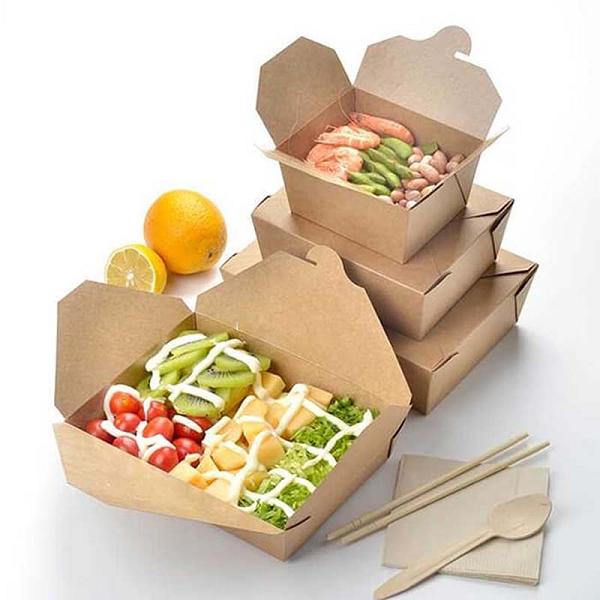 Thiết kế hộp giấy đựng thức ăn nóng, đồ ăn nhanh tiện lợi