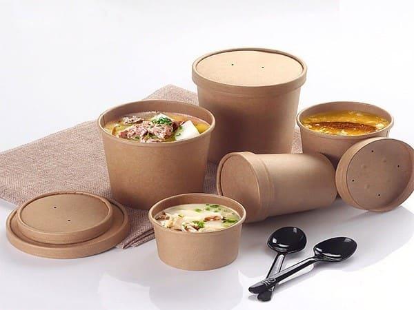 Hộp đựng thức ăn nhanh bằng giấy siêu tiện lợi cho khách hàng