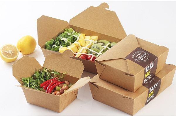 Ưu điểm khi in hộp giấy đựng thực phẩm