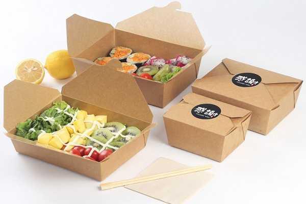 In hộp giấy để đựng thực phẩm